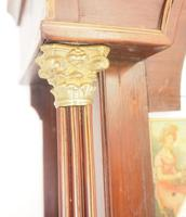 Fine English Longcase Clock Radcliff Elland 8-day Grandfather Clock with Moon Roller Dial (22 of 27)