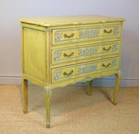 Pretty Hand Painted French Chest of Drawers (4 of 8)