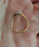 Vintage Art Deco Diamond Filigree Ring, 18ct Gold & Platinum (13 of 14)