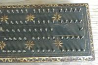 Antique 1863 American Civil War John Gill Hedgehog Cast Iron Cribbage Board (4 of 8)