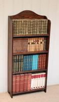 Oak Open Bookcase c.1920 (3 of 11)