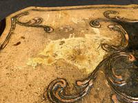 Antique Venetian Polychrome Painted Coffee Table (6 of 9)
