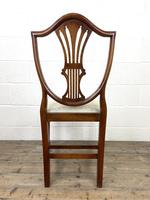 Set of Four 20th Century Mahogany Dining Chairs (10 of 10)
