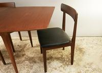 1960's mid century extending dining table and 4 chairs by Mcintosh (6 of 7)