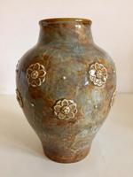 Royal Doulton Stoneware Vase by Maud Bowden, Art Nouveau (2 of 9)