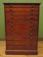 Antique Victorian Collectors Specimen Chest of Drawers (9 of 18)