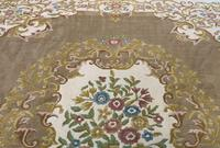 Superb Large 15x12ft Vintage Antique Indian Kayam Pure Woollen Thick Pile Rug (6 of 13)