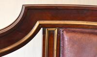 Pair of French Directoire Leather Armchairs (3 of 16)