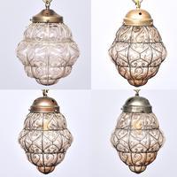 Set of 4 Murano-type Basket Light Fittings (10 of 10)