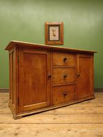 Victorian Rustic Antique Pine Sideboard Kitchen Unit (18 of 22)