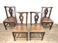 Set of Four 19th Century Oak Dining Chairs (4 of 10)