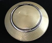 George V Silver & Enamel Compact (4 of 7)