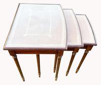 Nest of Three Mahogany Tables (2 of 5)