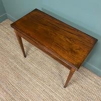 Country House Georgian Mahogany Antique Side / Tea Table (7 of 8)
