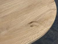 French Bleached Oak Monastery Dining Table (29 of 30)