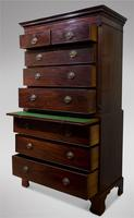 George III Mahogany Chest on Chest (3 of 4)