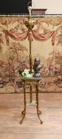 Antique Gilt French Floor Lamp Table