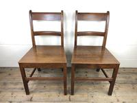 Pair of Antique Welsh Oak Farmhouse Chairs (2 of 17)