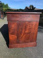 Antique Mahogany Pedestal Desk (5 of 12)