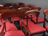 Set of 12 Scottish Mahogany Dining Chairs (4 of 18)