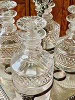 Early 19th Century Decanter Set in Stand (15 of 15)