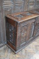 Antique Gothic French Coffer (5 of 7)