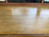 Antique Heals Oak Dressing Table & Stool (10 of 12)