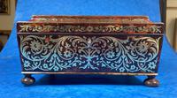 English Boulle & Brass Kingwood Edged Jewellery Box (14 of 16)