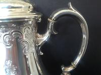 Antique Victorian Silver Coffee Pot - 1847 (8 of 12)
