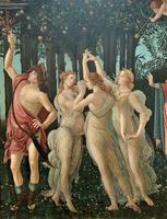 After Sandro Botticelli Large 20th Century Old Master Framed Coloured Print (9 of 13)