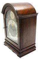 Superb Mahogany Arch Top Mantel Clock Westminster Musical Bracket Clock by Dent London (5 of 10)
