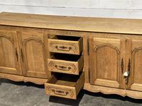 French Bleached Oak Sideboard or Dresser Base (17 of 23)