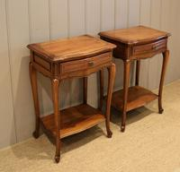 Pair of French Cherrywood Tables (3 of 11)