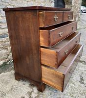 Antique Oak Chest of Drawers with Crossbanded Edge (13 of 17)