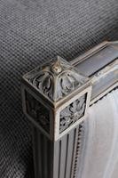 Beautiful Newly Upholstered King Size French Louis XVI Style Bed (10 of 11)