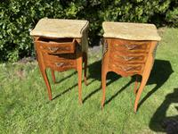 Pair of French Marquetry Bedside Tables (5 of 8)
