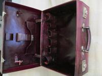 Burgundy Leather Dressing Case (6 of 8)