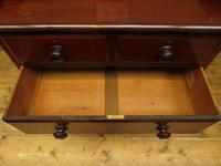 Small Antique 19th century Mahogany Chest of Drawers Washstand with aged patina (12 of 18)