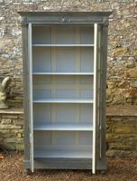 Imposing 19th Century French Glazed & Painted Bookcase Cabinet (3 of 10)