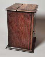 Antique Victorian Oak Smokers Cabinet (5 of 12)