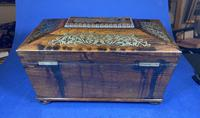 Regency Rosewood Twin Canister Tea Caddy (15 of 17)