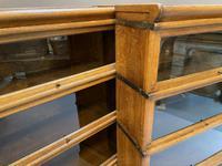 Pair of Globe Wernicke Oak Bookcases (10 of 16)