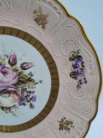Vintage German Porcelain Plates / Chargers Bavarian /Set of Three (25 of 32)