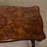 Walnut Writing Table Desk 19th Century Victorian (5 of 9)
