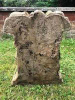 Architectural Feature Medieval Style Stone Cherub Acanthus Scroll Crown Corner Garden Corbel (10 of 13)