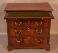 Rare English Walnut Small Chest of Drawers (3 of 9)