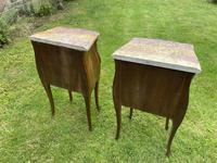 Pair of Marquetry Bedside Tables (5 of 8)