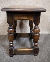 Solid Oak Stool / Occasional Table (4 of 9)