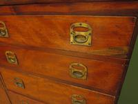 Substantial Antique Bank Of 18 Shop Drawers (5 of 25)