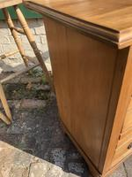 Antique Satin Walnut Three Drawer Chest of Drawers (3 of 8)